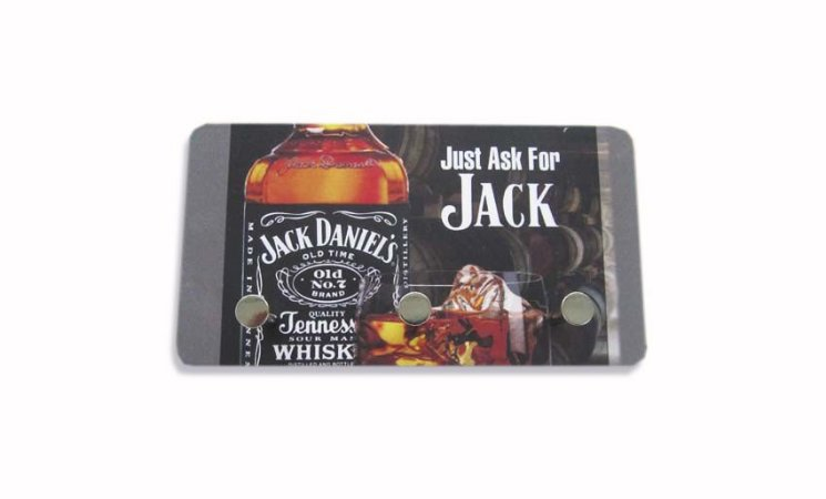 3211 Porta chaves metal - Jack Daniels