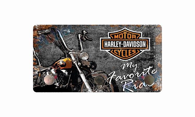 3219 Porta chaves metal - Harley