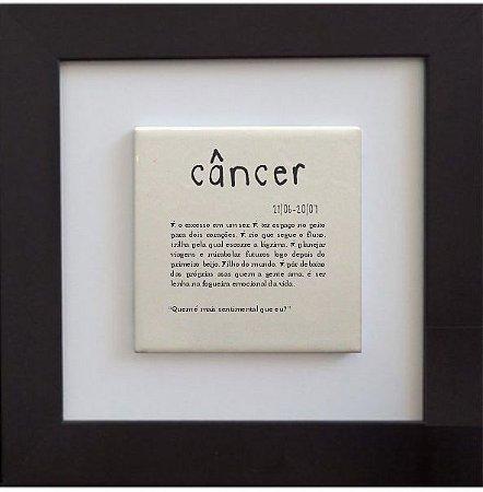 3001-008 Quadro de azulejo Decor - Signo Câncer