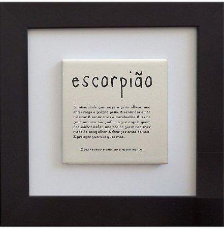3001-015 Quadro de azulejo Decor - Escorpião