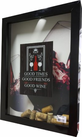 3060G-003 Quadro Rolha - Vinho tinto