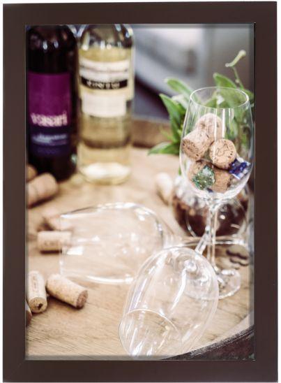 3061P-004 Quadro Rolha - Amigos e vinho
