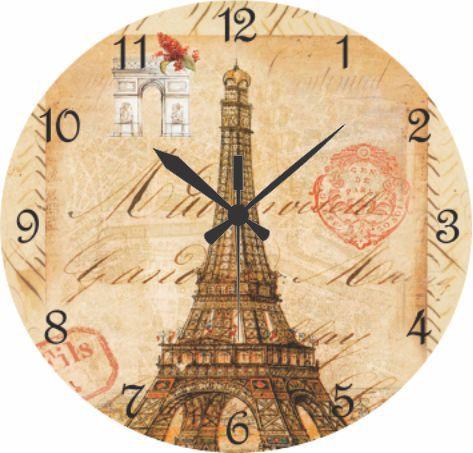 1639 Relógio Redondo - Torre Paris