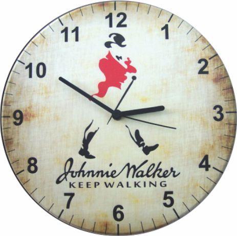 1686 Relógio Redondo - Johnie Walker