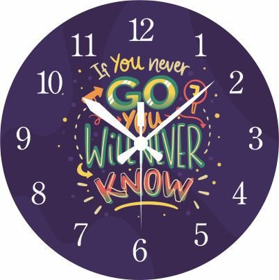 1700-003 Relógio Redondo - Never