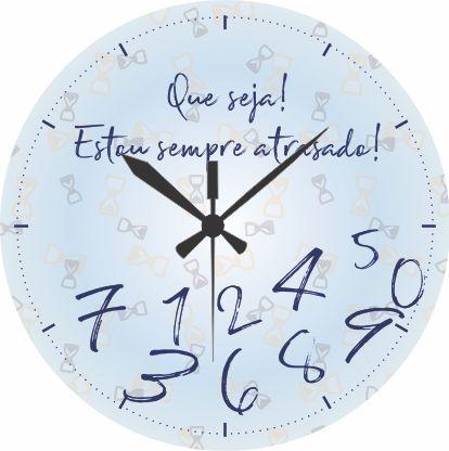 1700-019 Relógio Redondo - Atrasado