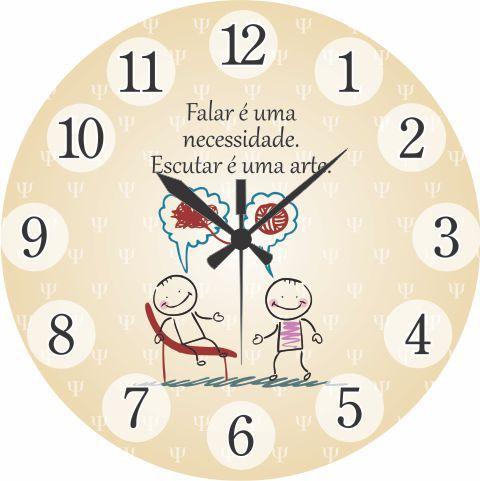 1700-021 Relógio Redondo - Falar