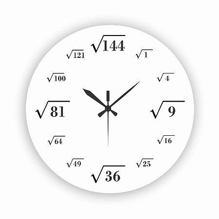 1700-024 Relógio Redondo - Matemática