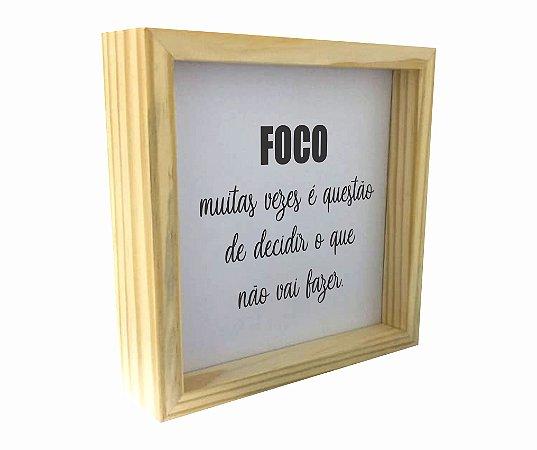 3066-006 Caixa Motivacional - Foco