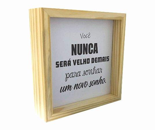 3066-007 Caixa Motivacional - Nunca