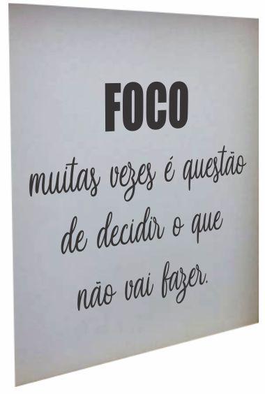 3066A-006 Placa motivacional - Foco