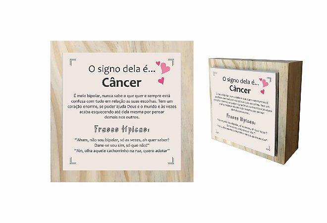 07-04-C004 Cubo Decor Cru - Câncer