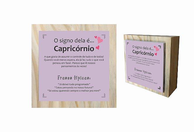 07-04-C008 Cubo Decor Cru - Capricórnio