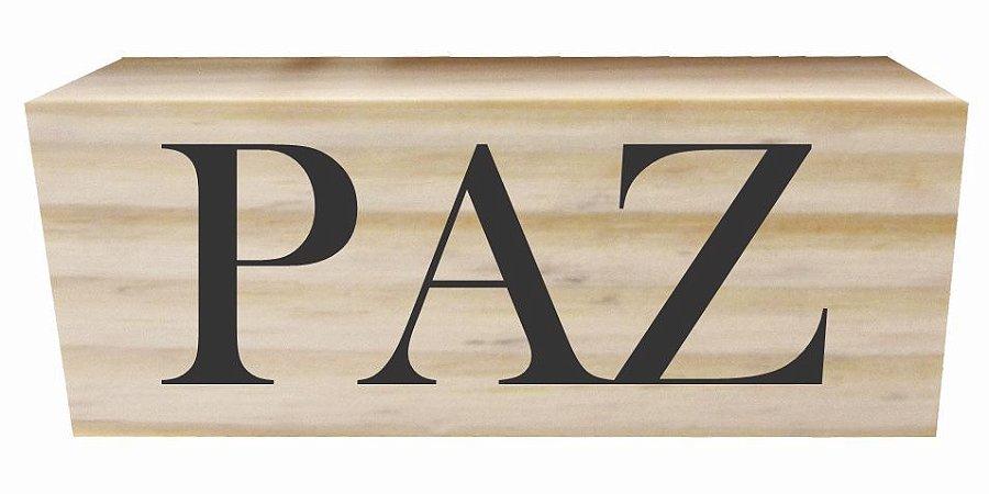 07-02-004  Decor Taquinho - Paz