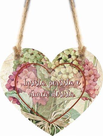 1759-C009 Móbile Coração - Insista persista