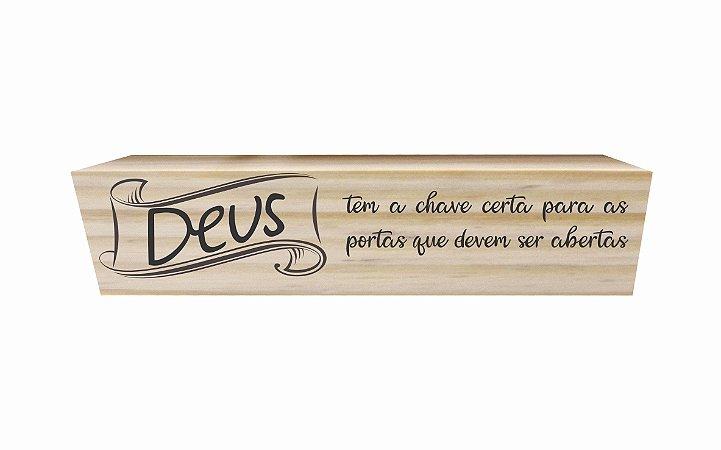 1603-002 Porta Chave Ímã - Deus