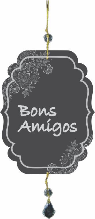 1759-P001 Móbile Pontas - Bons amigos