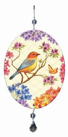 1980-004  Móbile Oval - Pássaro galho