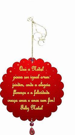 1955-005 Móbile Natal Bola - Vermelha e árvore