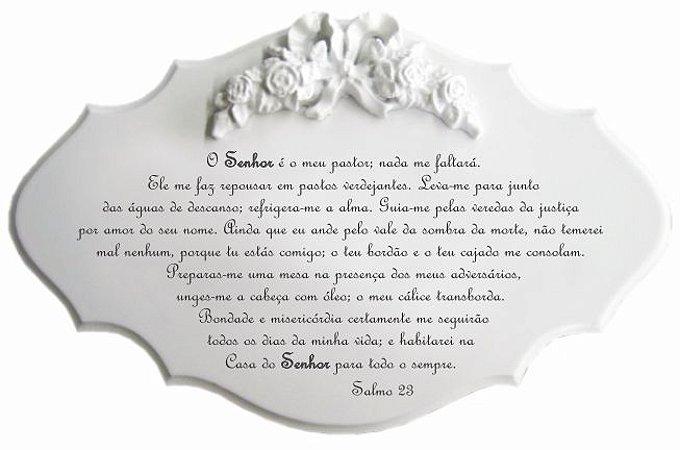 14-19-P Placa Oração - Salmo 23