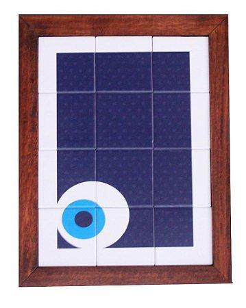 3093AM-025 Quadro de azulejo - Olho baixo