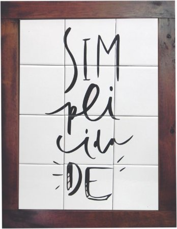 3093AM-048 Quadro de azulejo - Simplicidade