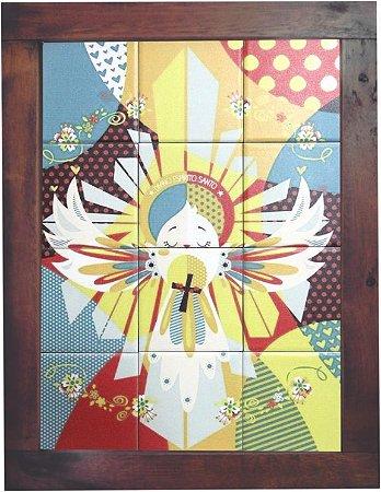 3093AM-054 Quadro de azulejo - Espírito Santo