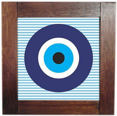 3094AP-012 Quadro de azulejo - Olho Listra