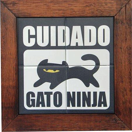 3094AP-016 Quadro de azulejo - Ninja