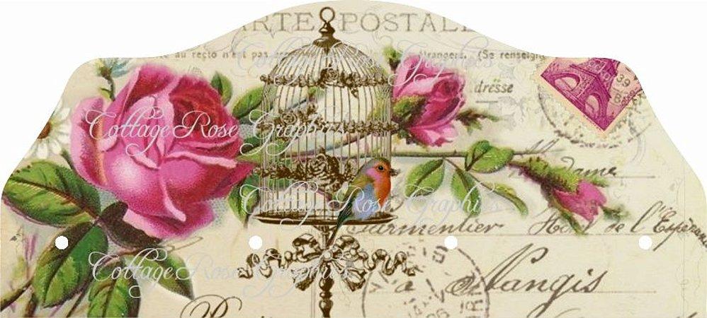 1416 Porta Chaves - Gaiola floral