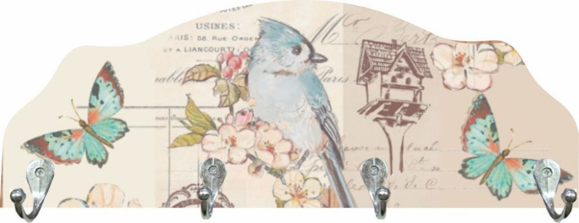 2001 Cabideiro - Pássaro azul