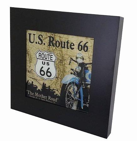 3070-023SF Quadro luminoso sem fio - Route 66