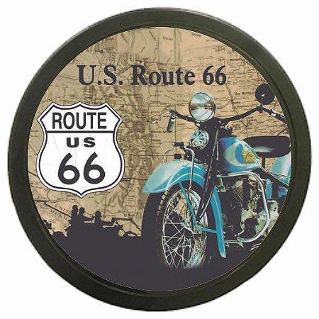 3072-007CF Quadro luminoso - Route 66