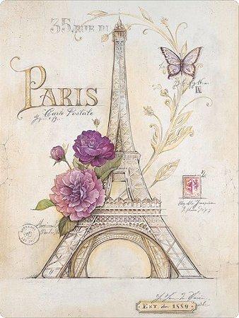 1209 Placa de Metal - Paris