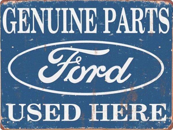 1229 Placa de Metal - Peças Ford