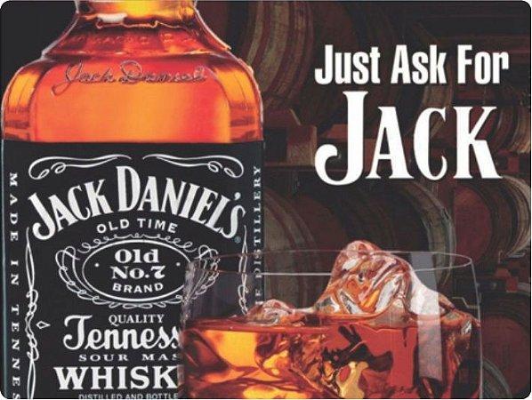 1233 Placa de Metal - Jack Daniels