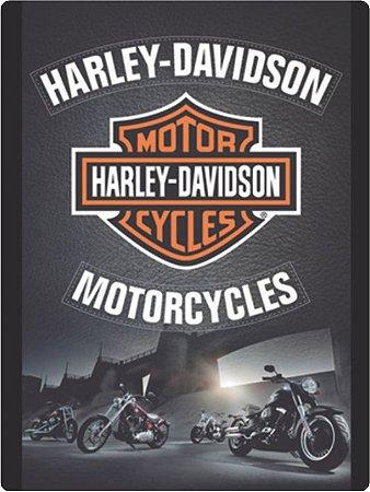 1264 Placa de Metal - Harley Logo