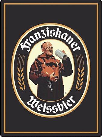 1309 Placa de Metal - Franziskaner