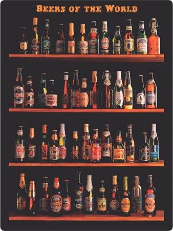 1324 Placa de Metal - Beers