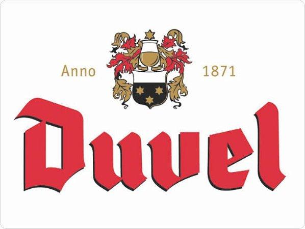 1343 Placa de Metal - Duvel logo