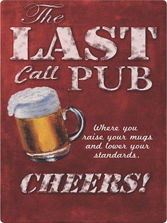1372 Placa de Metal - Last pub