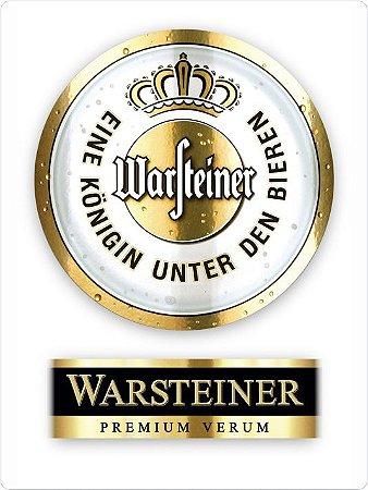 1387 Placa de Metal - Warsteiner