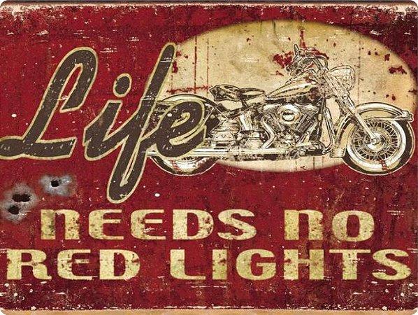 1395 Placa de Metal - Life Needs