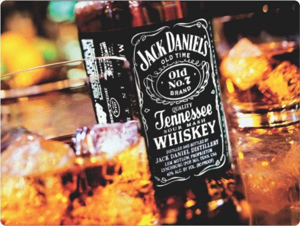 3415 Placa de Metal - Jack Daniels Wiskey