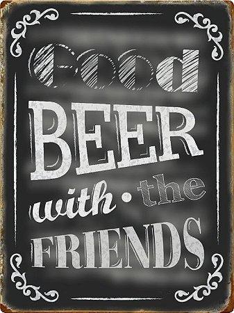 3460 Placa de Metal - Good Beer