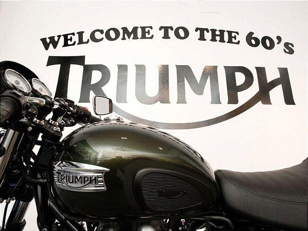 3576 Placa de Metal - Triumph