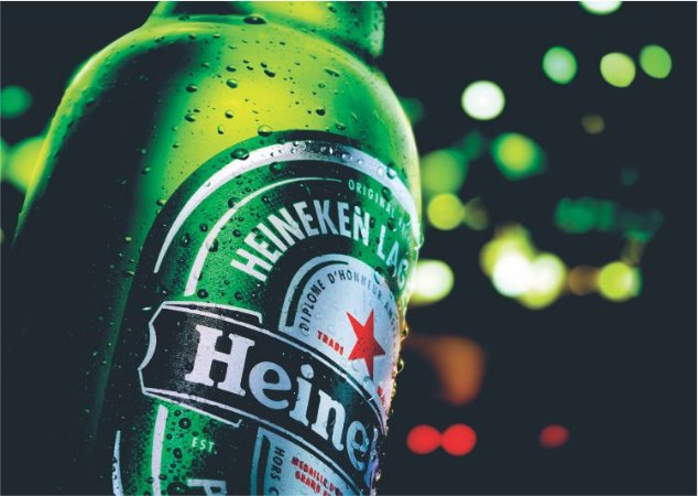 3595 Placa de Metal - Heineken Lights