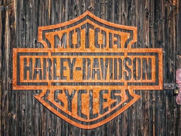 3625 Placa de Metal - Harley