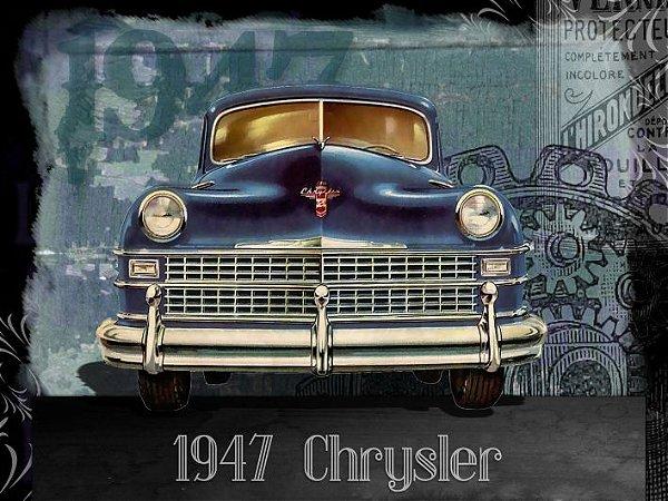3626 Placa de Metal - Crysler