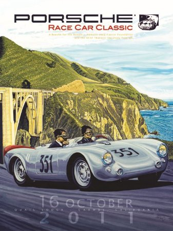 3633 Placa de Metal - Porsche